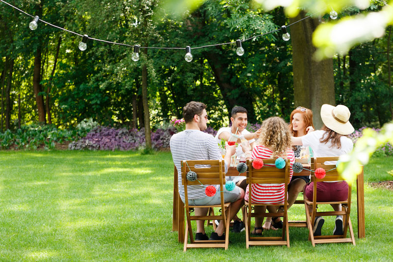 Make your garden your new entertaining area!